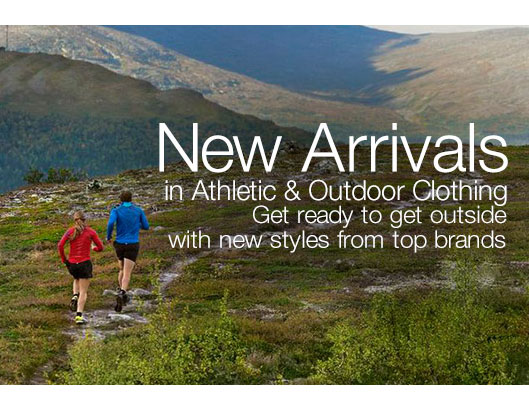 Amazon coupon 10\% on Athletic and Outdoor clothing