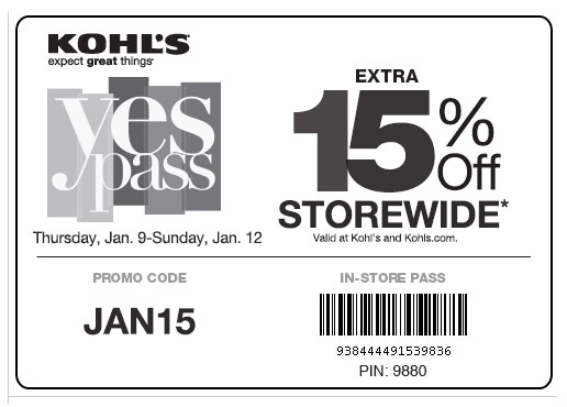 kohl's coupons in-store printable