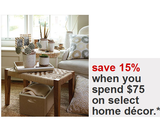target home decor coupons target coupons 15 percent home decor 11757