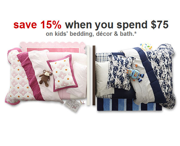 target coupons 15 percent off