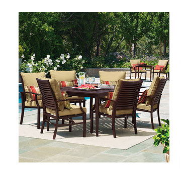 shutter 7-piece patio dining set